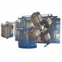 Four Arm Bi Axial Rotational Moulding Machines