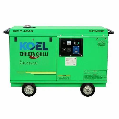 KP5000 KOEL Chhota Chilli Portable Petrol Generator