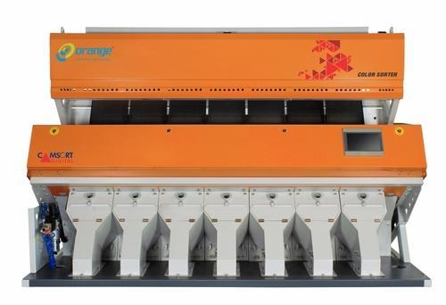 Orange Sorting Machines Ms Double Boiled Rice Color Sorter