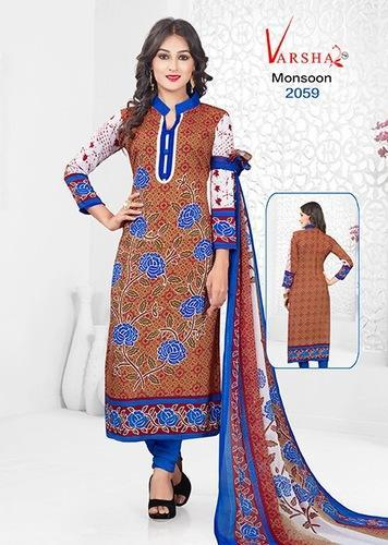 bb9570d84f Formal Wear Printed Synthetic Salwar Suit, Rs 350 /piece | ID ...