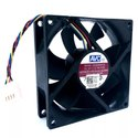 AVC Cooling Fan DL08025R12U 80x80x25mm 12V 0.50A 4 Wire 4Pin Connector