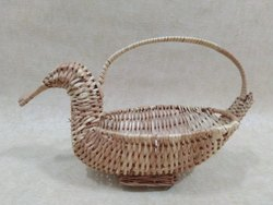 Willow Duck Basket