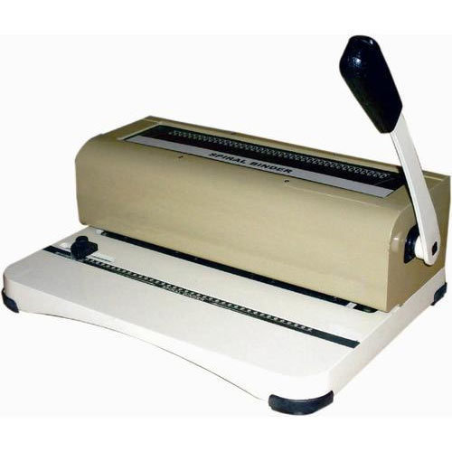 Hand Operated Spiral Binding Machine At Rs 5500 /piece