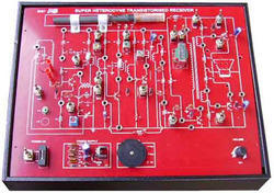 Super Hetrodyne Transistorized Receiver Trainer