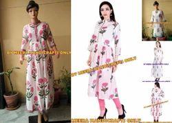 Hand Block Printed Dress