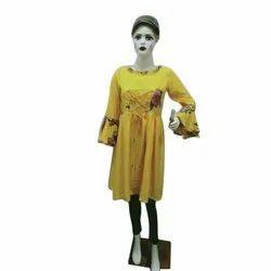 Full Sleeve Casual Wear Ladies Printed Designer Cotton Kurti