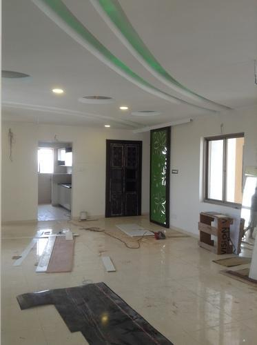Residential Interior Decorators Living Room False Ceiling Design Manufacturer From Chennai