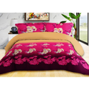 Flower Printed Bed Sheet