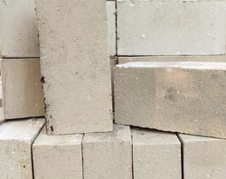 Rectangular Gray Acid Proof Resistant Brick, Size: 230x115x75mm