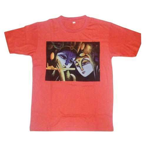 2e82fe72 Krishna printed T-Shirt at Rs 150 /piece | Newtown | Nabadwip | ID ...