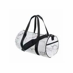White and Black Boys Sports Bag