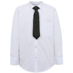 Summer Cotton White Dressco School Shirt, Size: small medium large, Packaging Type: Poly Pack