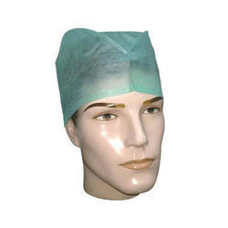 S Protection White and Blue (Available) Surgeon Cap