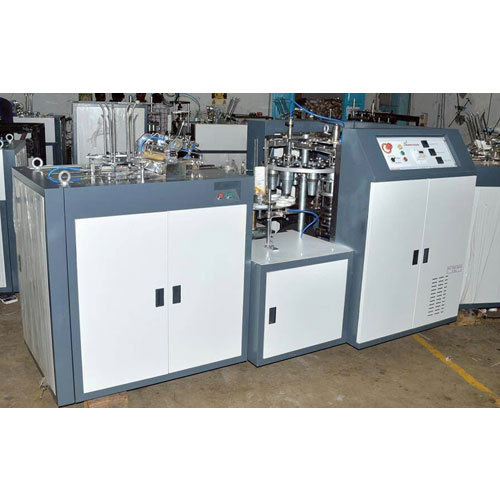 Semi Automatic Paper Cup Making Machines, Capacity: 2000-3000 pcs/hr