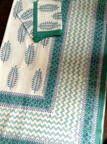 Sanganeri Double Bed Sheet