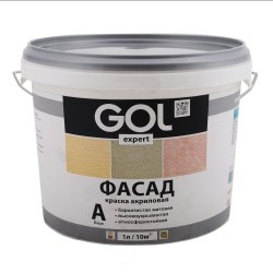 Matt White Exterior Acrylic Paint GOL Expert 138 Base A, Roller, Packaging Type: Bucket