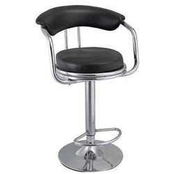 SS Black And Silver bar chair