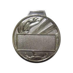 Round Silver Medal