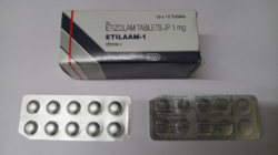 Anti Anxiety Etilaam 1 mg Tablets