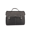 Leather Laptop Black Office Bags