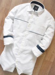 Best brand Linen and cotton and silk Mens Casual Shirts