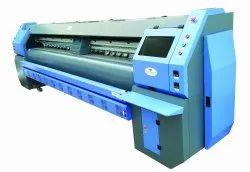 Solvent Konica Minolta 512i 30pl Tornado 3304KHI Flex Printing Machine, Voltage: 220V, Max Printing Size: 10.5 Feet