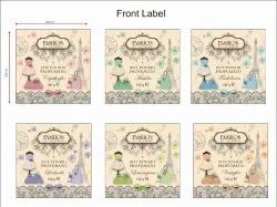 Fashion Trend Pot Pourri Label