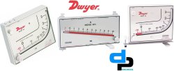 Dwyer Mark I Model 28 Manometer Range 0-10500 FPm