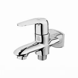 Flotus Classic 308 Brass 2 Way Bib Cock With Flange, For Bathroom Fittings, Size: 15 Mm