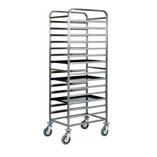 Indian Tray Rack Trolley, Rs 17500 /piece, I Kitchen Equipments ...