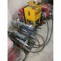 Standard Maayaar Cable Blowing Machine, Automatic Grade: Semi-automatic, 7.5 Honda Petrol Engine
