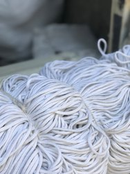 White Cotton Braided Cord