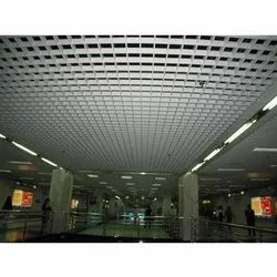 Metacil Color Coated GI False Ceiling, Thickness: 10-25 mm