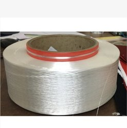 White Polyester 150D Hot Melt Yarn