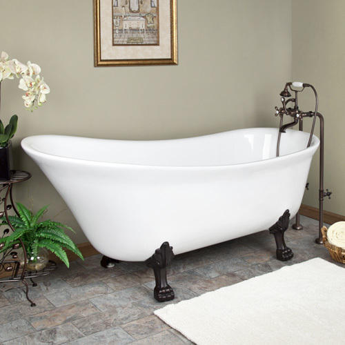 dark teammb cast bathroom goodwin gray images iron pinterest clawfoot imperial freestanding tubs footed base tub wc feet on best bathtub