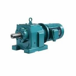 Three Phase Geared Motor, For Industrial