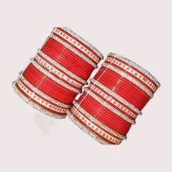 Red Bridal Chura for Women & Girls