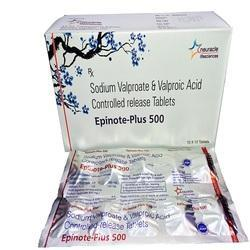 Sodium Valproate And Valproic Acid Cr Tablet 500 Mg