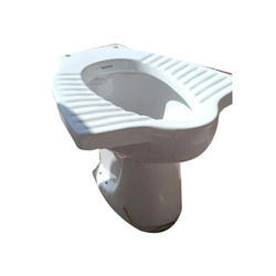 White Indian Anglo Toilet Seat