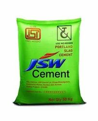 JSW Slag Poly Cement, Packaging Size: 50 Kg