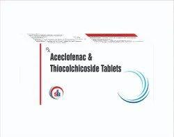 Aceclofenac & Thiocolchicoside Tablets