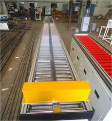 Carbon Steel Pallet Conveyor, Power: 0.4 to 10 kW