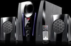 Intex Black Elyt-e6 2.1 XV 2100 DG FMUB Speakers