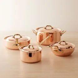 Fancy Copper Utensils Set