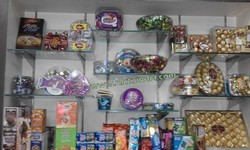 Display Wall for Dry Fruit Store