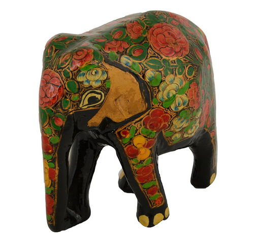Decorative Hand Painted Elephant Showpieces Figurine