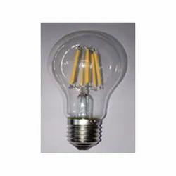 Glass Angled 60 4 W E27 A60 Dimmable LED Filament Bulb