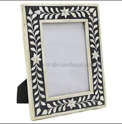 Foliage Band Bone Inlay Picture Frame
