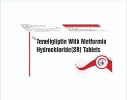 Teneligliptin With Metformin Hydrochloride(SR) Tablets