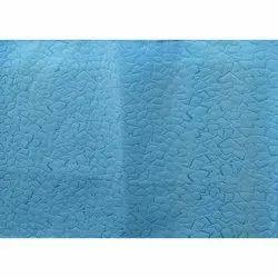 Blue Textured Non Woven Fabric